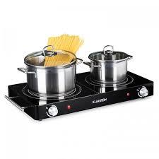 le infrarouge cuisine varicook duo plaque de cuisson infrarouge 2 feux 3000w noir