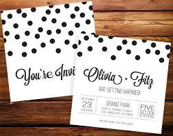 polka dot wedding invitations polka dots inspired wedding ideas and invitations wedding