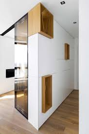 small apartment design full hidden storage in moscow