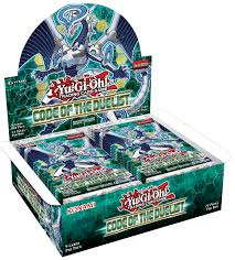 ygo code of the duelist booster box gaming dna