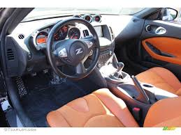 nissan 370z leather seats persimmon leather interior 2010 nissan 370z sport touring coupe