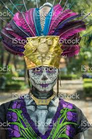 catrina costume prehispanic catrina costume stock photo more pictures of