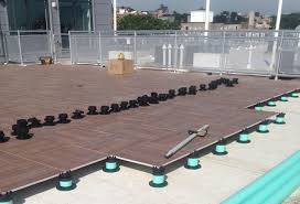 paver pedestal system raised paver deck system tile tech pavers