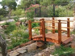 Backyard Bridge Wooden Garden Bridge Over Koi Pond A Garden Bridge Can Bring
