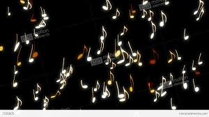 music notes animation home design