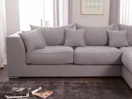 canapé d angle cocooning canapé d angle en coton et avec grande méridienne