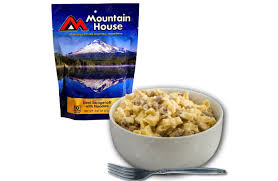 stroganoff with noodles family sized pouch mountain house