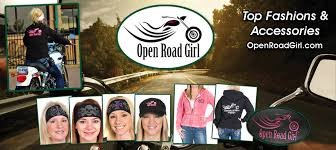 open road clothing created for the lady biker whether you