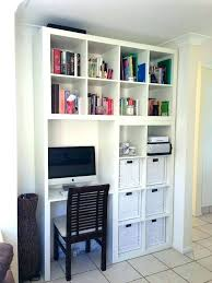 bibliothèque avec bureau intégré bibliothaque avec bureau grande bibliotheque avec bureau integre