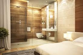 chambre salle de bain chambre en naturelle parquet design luxe
