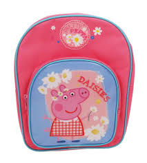 superman peppa pig and other peppa pig daisies backpack schoolbag
