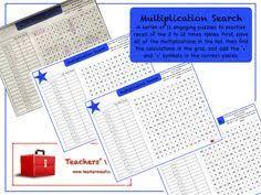 times tables noughts and crosses ks1 ks2 ks3 maths