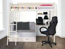 lit mezzanine 1 place avec bureau bureau enfant pin massif lit mezzanine goliath avec bureau sofa et