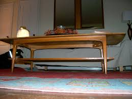 Painted Mid Century Furniture by Secondhand Score Mid Century Coffee Table The Borrowed Abode