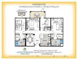 Dartmouth Floor Plans Senior Living Floor Plans Aston Gardens At Pelican Marsh