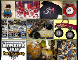 grave digger monster truck birthday party supplies monster truck party supplies u2013 atamu