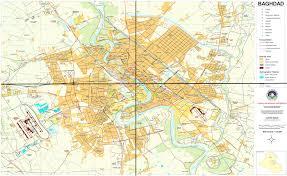 map of baghdad maps of baghdad