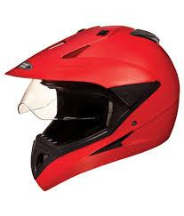 full face motocross helmet studds full face helmet motocross plain matte sports red