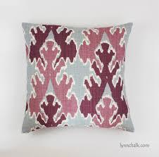 Pink Round Cushion Pillow Kelly Wearstler Bengal Bazaar