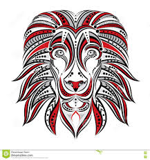 Watery Eyes Meme - lion painted in ethnic style indian african style sketch of