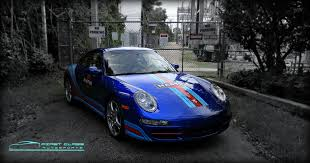 miami blue porsche boxster miami car wraps vehicle wraps miami 3m matte car wrapping