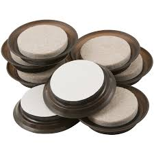 Felt Pads For Chairs Shop Waxman 8 Pack 1 5 In Round Felt Pad At Lowes Com