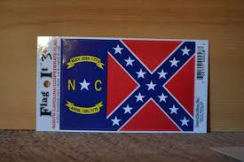 North Carolina travel stickers images North carolina confederate flag decal jpg