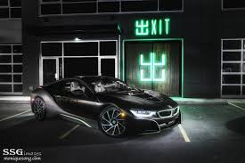 Bmw I8 Wrapped - photo of the day wrapped bmw i8 lurking in the dark gtspirit