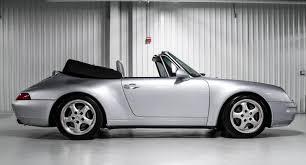 silver porsche convertible 1995 porsche 911 carrera cabriolet 993 polar silver rennlist