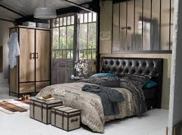 style chambre industrial style with kenisa kenisa home