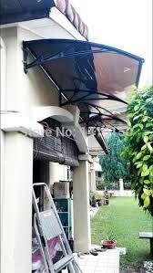 Polycarbonate Window Awnings Aliexpress Com Buy Ds100300 P 100x300cm Deep 100cm Wide 300cm