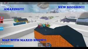 Roblox Maps Map Filled With Max Snow Snow Shoveling Simulator Roblox