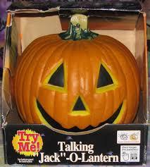 image 1997 gemmy talking jack o lantern halloween animated