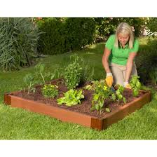 composite raised garden bed 4 u0027 x 4 u0027 eartheasy com