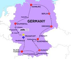Munich Germany Map by Germany Costsaver Home Usa Destination Guides Europe