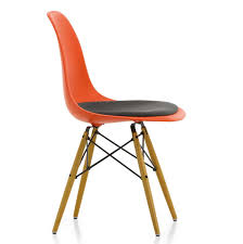 dsw chair upholstered seat only by charles and ray eames u2014 haus