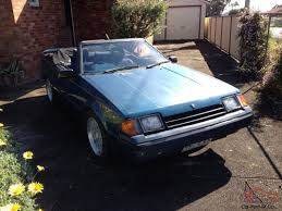 toyota celica convertible for sale uk toyota celica sunchaser convertible ra60 1982 collectors 1 of