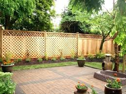 fence ideas for small backyard small fence ideas backyard fencing ideas backyard fencing ideas