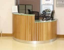 Oak Reception Desk Stainless Steel And Oak Reception Bespoke Driveway Gates And