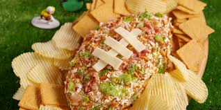 thanksgiving cheese ball best loaded football cheeseball how to make loaded football
