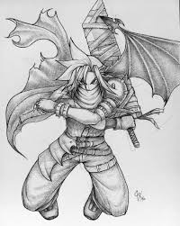 final fantasy vii u0027s cloud by claymore32 on deviantart