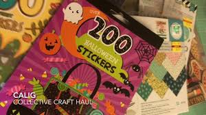 hobby lobby halloween crafts collectlve craft haul tuesday mornlng hobby lobby target u0026 more