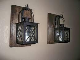 Wall Sconces Indoor Injucy Lighting Vintage Industrial Edison Barn Lantern Iron Indoor