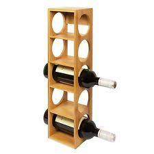 wall mounted wine racks 1 9 bottle capacity ebay