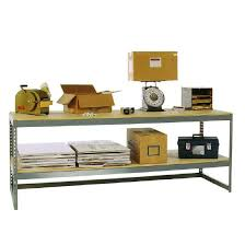 Industrial Work Table by Industrial Work Bench 60w X 48d X 36h Extra Shelf Included