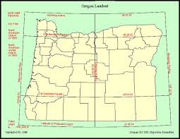 political map of oregon state of oregon oregon geospatial enterprise office oregon