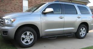 08 toyota sequoia manufacturers of high quality nerf steps prerunners harley bars