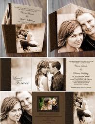tri fold wedding invitations wedding invitations photo invites by photo card chef