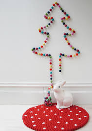Ideas For Christmas Tree On Wall by 100 Diy Christmas Decorations That Will Fill Your Home With Joy