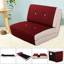 flip sleeper sofa convertible chair bed dorm room couch fold down